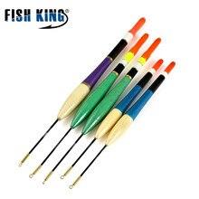 FISH KING Float 5Pcs/lot Float 3g 4g 5g Length 16cm 18.5cm 20cm Mix size Barguzinsky Fir Float wood Floating