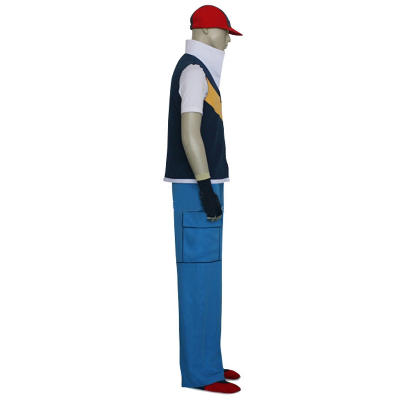 Anime pokemon ash ketchum cosplay full set halloween costume hat anime pokemon ash ketchum cosplay full set halloween costume hatcoatshirtpantsgloves custom size free shipping in anime costumes from novelty solutioingenieria Images