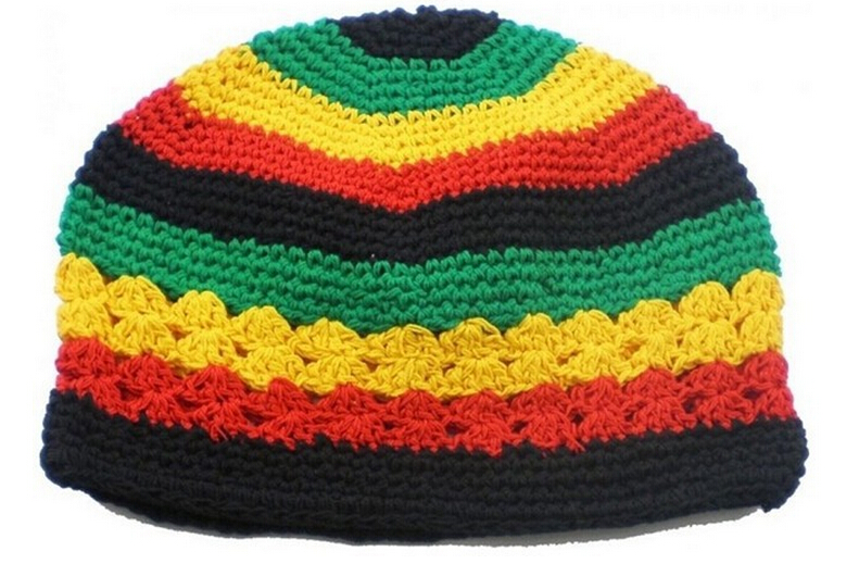 New Jamaican Rasta Hat Bob Marley Hat Jamaican Hat Tams Fancy Dress
