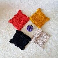 Autumn Winter Unisex Baby Girls Boys Cute Knitted Animal Hat Kids Rabbit Fox Goat Deer Hat