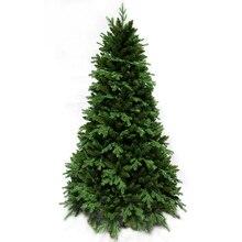 1,5 м/1,8 м/2,1 М/2,4 м Рождественская елка голый дерево Рождество PE + ПВХ смешанные листья елочные украшения