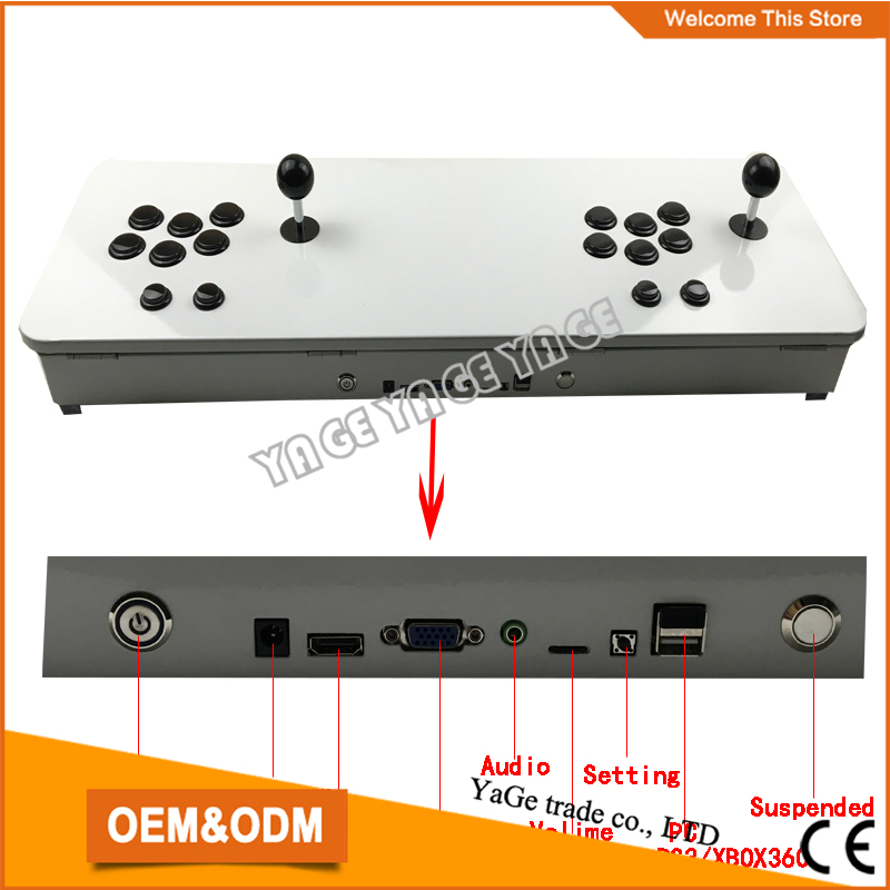 2015 Newest HD VGA output DIY arcade Video game machine consoles with 520 in 1 multi game board Pandora's Box 3 made in China