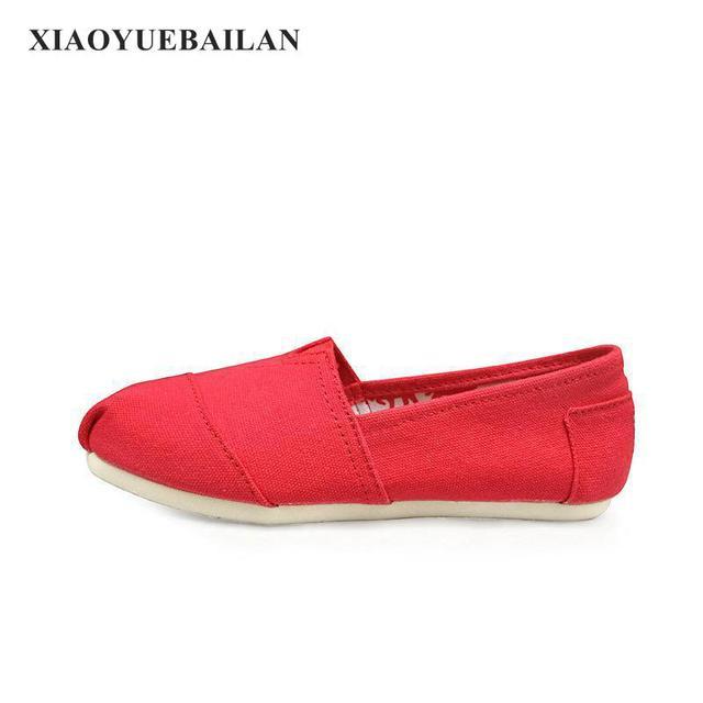 รองเท้าผ้าใบ,สีที่บริสุทธิ์จุดต่ำสุดแบนคนรักสบายๆรองเท้าและเท้า