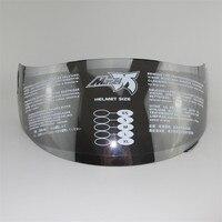 Masei 830 anti fog windshield motorcycle helmet glass full face helmet visor motorbike racing helmets lens