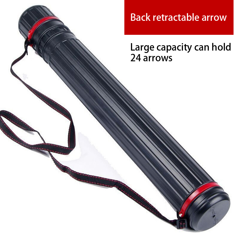 사냥 양궁 화살 화살통 화살촉 조정 가능 길이 63cm - 100cm 리바브 활 양궁 액세서리 떨림