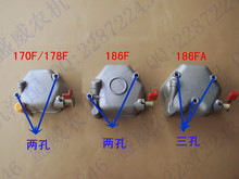 air cooled diesel generator engine accessories Cylinder Head Cover 170F 173F 178F 178FA 186F 186FA  cylinder cover assembly