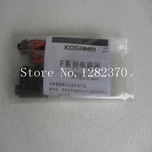 все цены на [SA] new Japanese original authentic KOGANEI solenoid valve F15T0-PS3 Spot онлайн