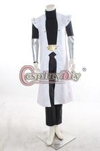 Cosplaydiy Yu-Gi-Oh Seto Kaiba Cosplay Costume Adult Men Halloween Outfit Custom Made