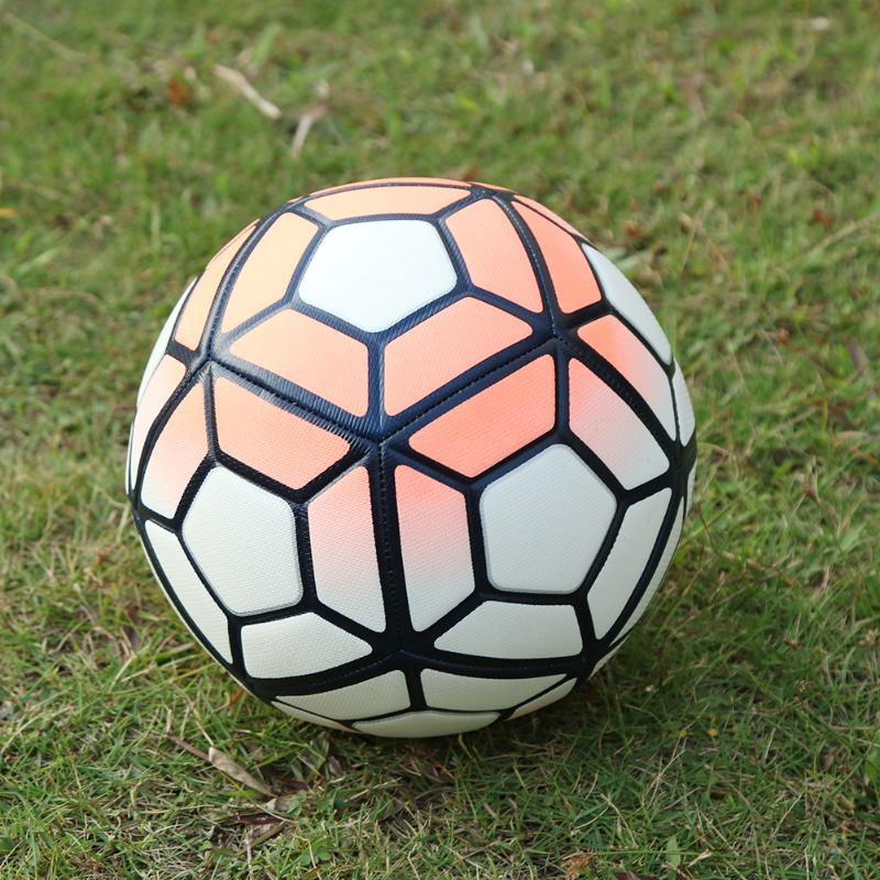 Professional Soccer NO.5 Machine Sewn Football Match Trainning Balls Soft PU Leather Soccer Sport Training For Adult Child