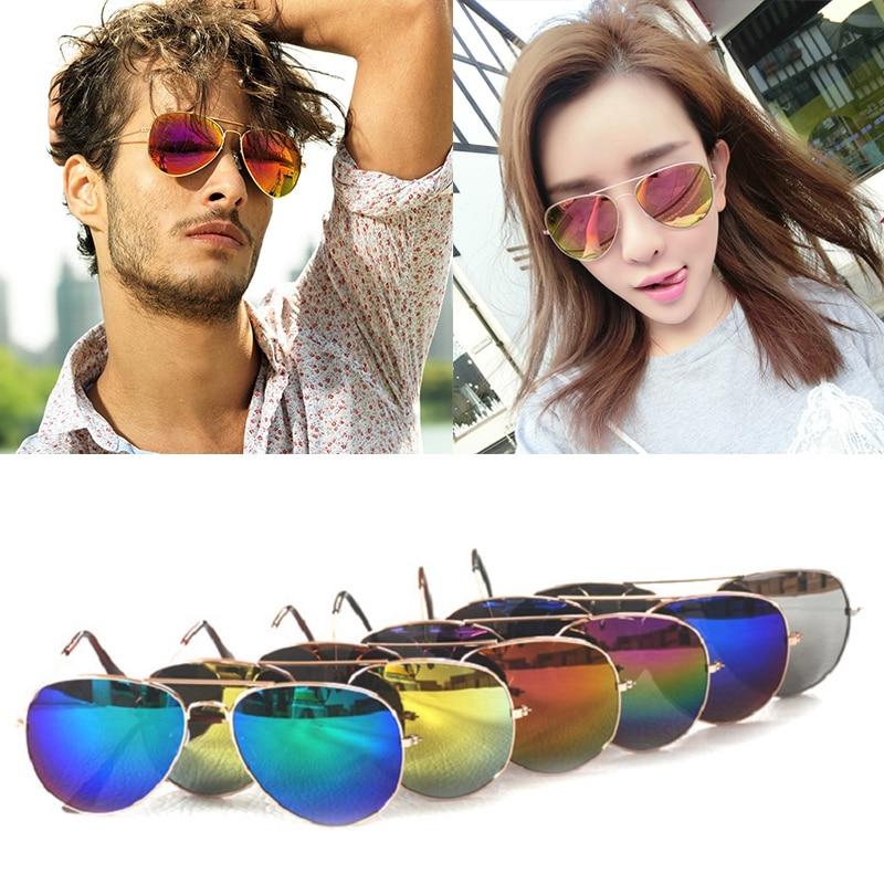 2016 Fashion Classic Sunglasses Women Brand Designer Shades Unisex Mirror Driving Eyewear Men Pilot Sun Glasses Gafas de sol