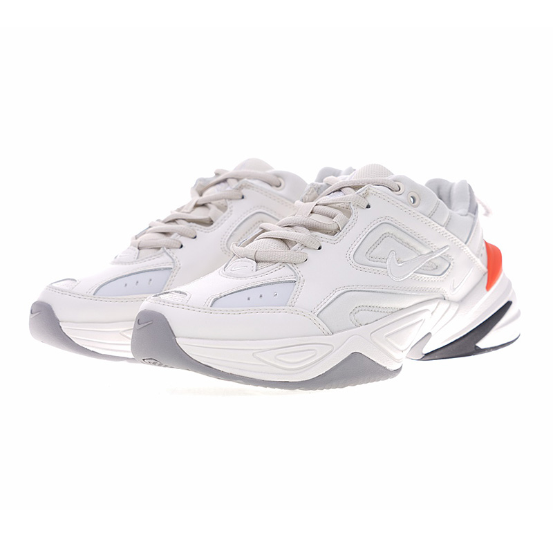 online store ad5a5 1639c Nike Air Monarch The M2K Tekno Men s and Women s Running Shoes, Wear  resistant Breathable, Beige black AO3108 001 AO3108 002-in Running Shoes  from Sports ...