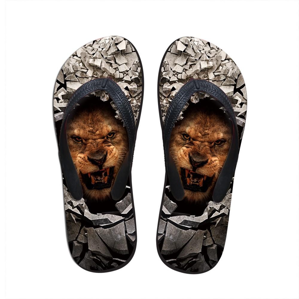 56020114e Luxury Summer Sandals Shoes Animal Leopard Men Flip Flops Personalized Beach  Slippers for Men Fashion Casual Men s Sandals