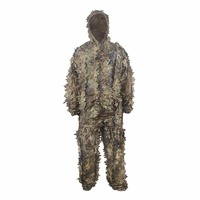 VILEAD 7 Colors Camouflage Suit Hunting Ghillie Suit Tactical Ghillie Army Airsoft Uniform Military Camouflage Hunting Clothes