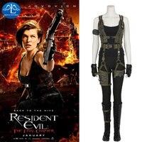 MANLUYUNXIAO kadın Kıyafet Resident Evil: Son Bölümde Alice Cosplay Kostüm Cadılar Bayramı Kostüm Kadınlar Için Özel Yapılmış