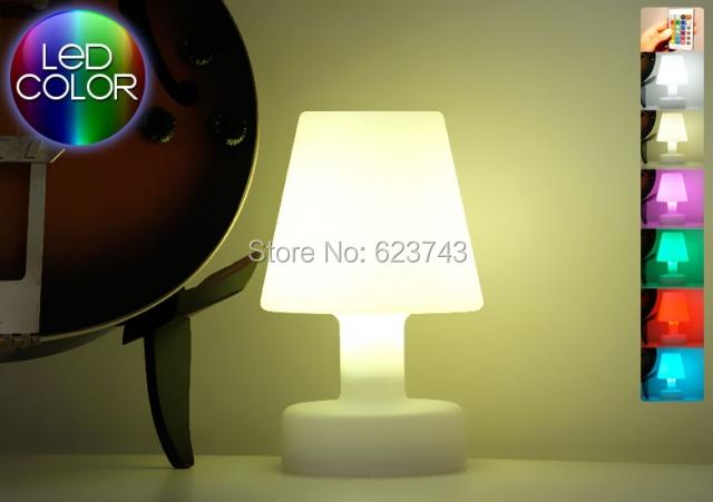 SLONGLIGHT controle remoto sem fio LEVOU luz de humor candeeiro de mesa Recarregável, luz Da Tabela De Quebrar-resistente à prova d' água