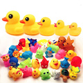Brinquedos para o Banho do bebê Golfinho Tartaruga de Borracha Pato Animais Crianças Brinquedos Squeeze Som de Pulverização de Água de Praia Brinquedos de Banho Para Crianças XZ02