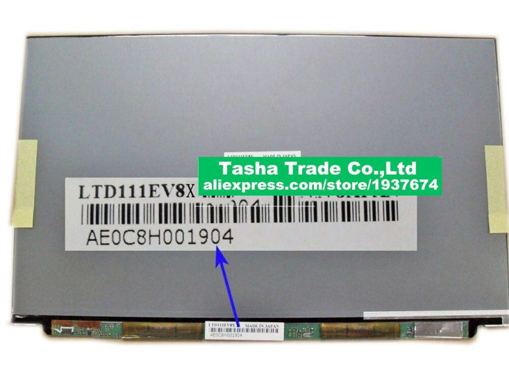For Toshiba Screen LTD111EV8X Laptop Screen LCD Panel 1366*768 Matte LVDS 30Pins MATTE for asus zenbook ux32a laptop screen m133nwn1 r1 m133nwn1 r1 lcd screen 1366 768 edp 30 pins good original new