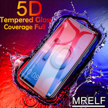 5D Tempered Glass for Huawei P Smart Plus 2019 Screen Protector on P Smart Z Glass for Huawei Y5 Y7 Y9 Y6 2019 Prime Pro Glass(China)