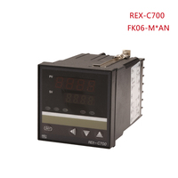 PID intellenge temperature controller to 1300 centigrade,72X72mm digital display thermostats,REX C700 FK06 M*AN