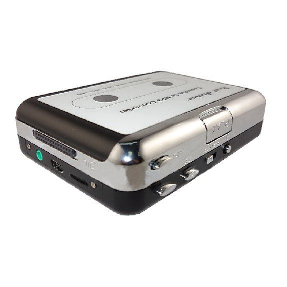 CES-high quality USB Stereo Cassette Capture multi-function walkman Cassette to MP3 Converter Silver цена