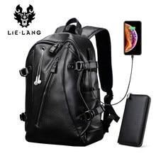 ea18bf0aec0f рюкзак LIELANG рюкзак мужской Для мужчин рюкзак Многофункциональный USB  мужчин 15 дюймовый ноутбук рюкзаки для подростков