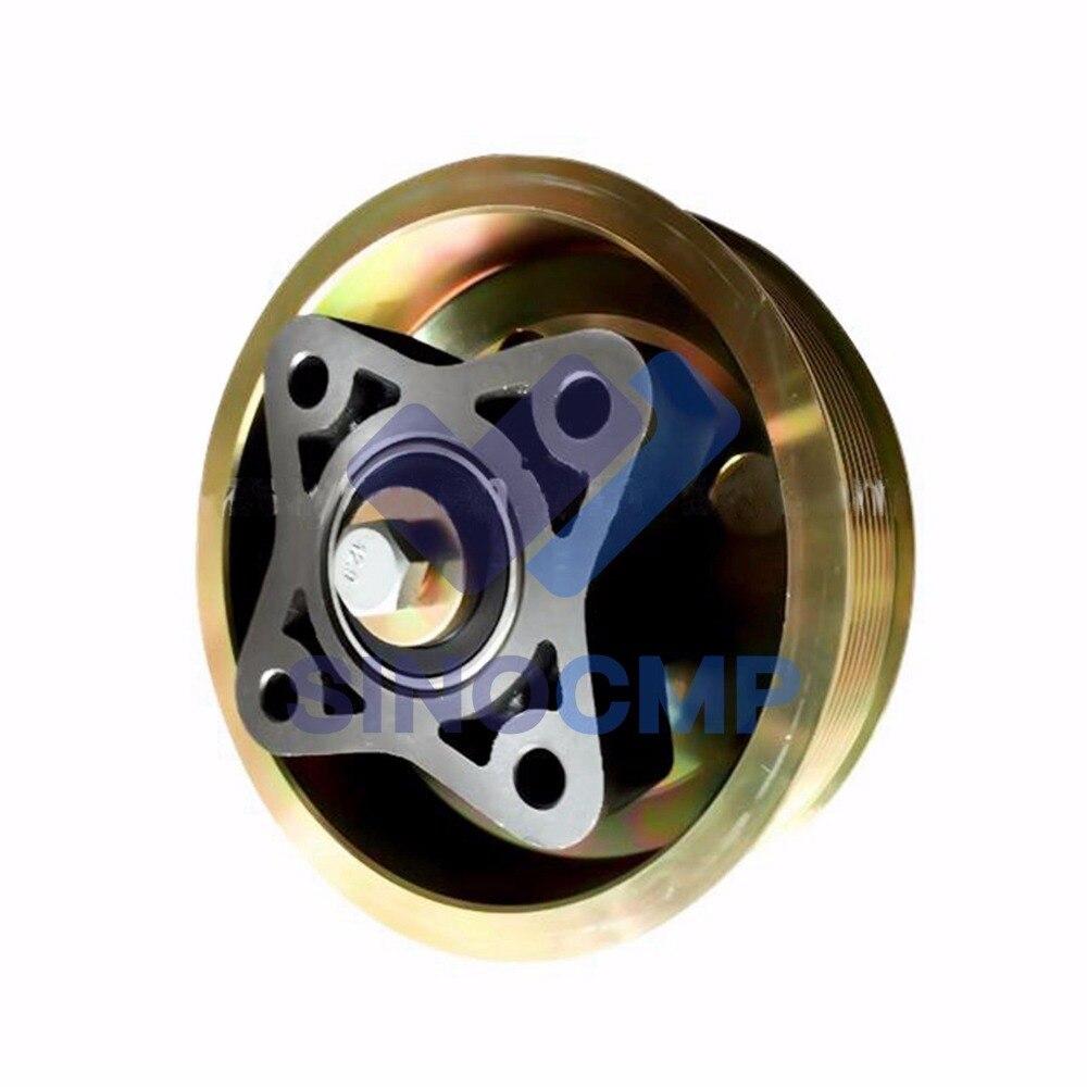 20459864 04252889 para EC210 EC240 EC290 TCD2012 Motor Diesel Peças De Reposição Suporte Do Ventilador Assy Pulley