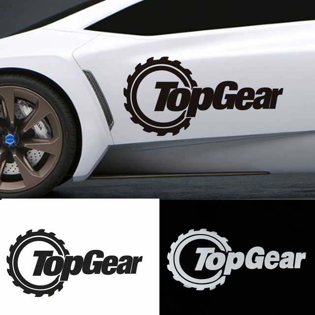 New Cm Funny TopGear Auto Car Walls Windows Sticker Graphic - Decals for trucks windows