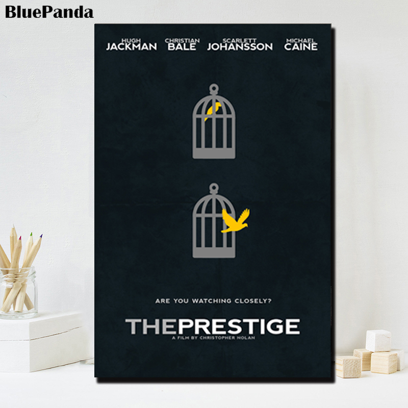 The Prestige Movie Modern Poster Oil Canvas Painting Wall Art Picture For Living Room Bedroom Pictures Office Home Decor(China)