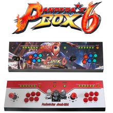 The Family Professional classic design arcade video game consoles with Pandora's Box 6 1300 in 1 multi game board the most classic design diy game machine 1300 in 1 pandora s box 6 household multi game consoles