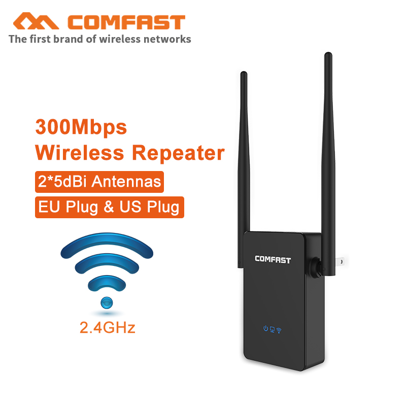 Comfast 300Mbps Wireless WIFI Router 10dBi Antenna Wifi Repeater Wi Fi Rang Extender Roteador 802.11b/g/n RJ45 Wilreless-N Wi-fi