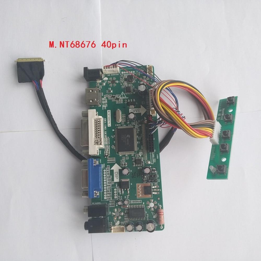 Converter Driver Lvds Controller Board Diy HDMI+DVI+VGA Kit for Lvds LTN140AT16