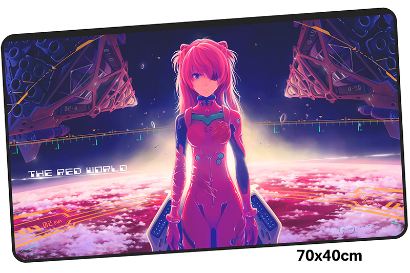 evangelion mousepad gamer 700x400X3MM gaming mouse pad large Adorable notebook pc accessories laptop padmouse ergonomic mat