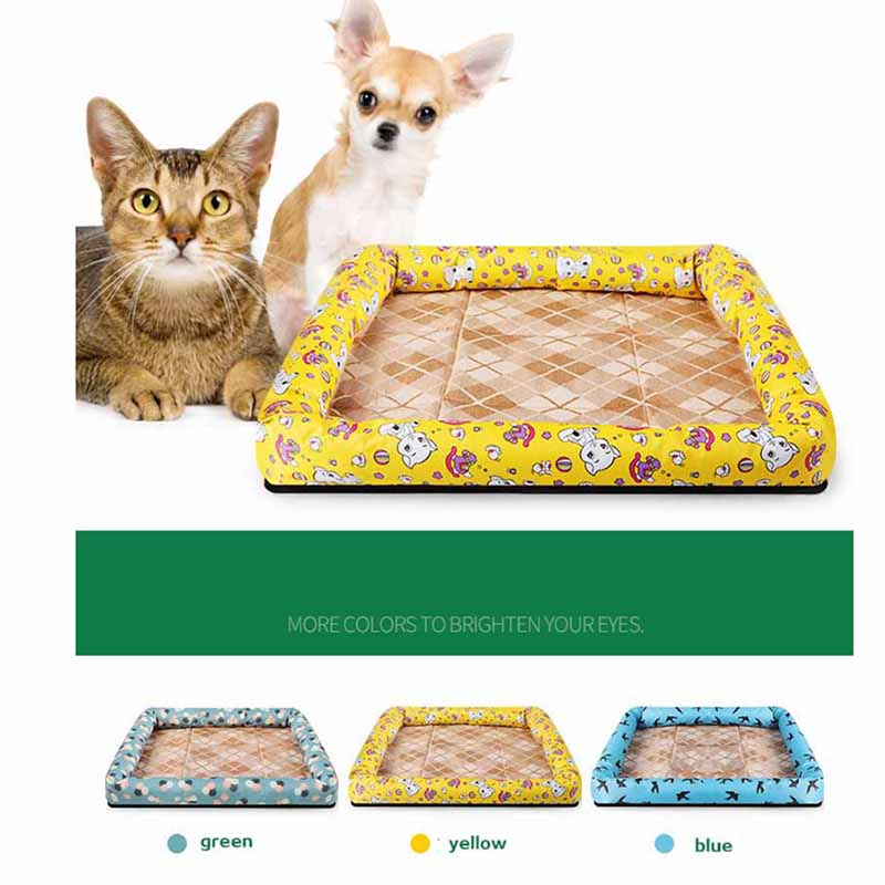 Oxford Cloth Mat Dog Kennel Waterproof Cool Dog Bed Summer Pet Cat Sleeping Mat Sofa Drop Shipping thumbnail