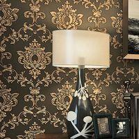 Beibehang 간단한 복고풍 유럽 양각 papel 드에서 parede 3D 벽 종이 침실 홈 장식 벽 벽화 벽지