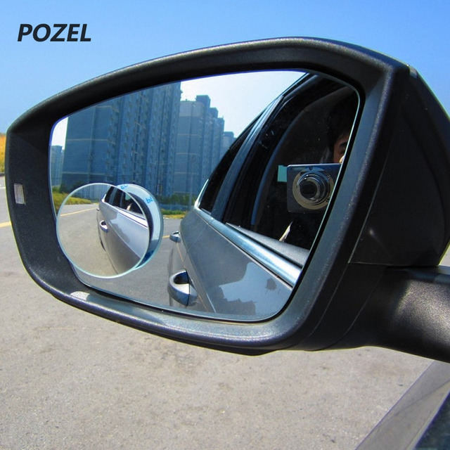 1Pair Car Round Convex Blind Spot mirror for Opel astra h astra J ...