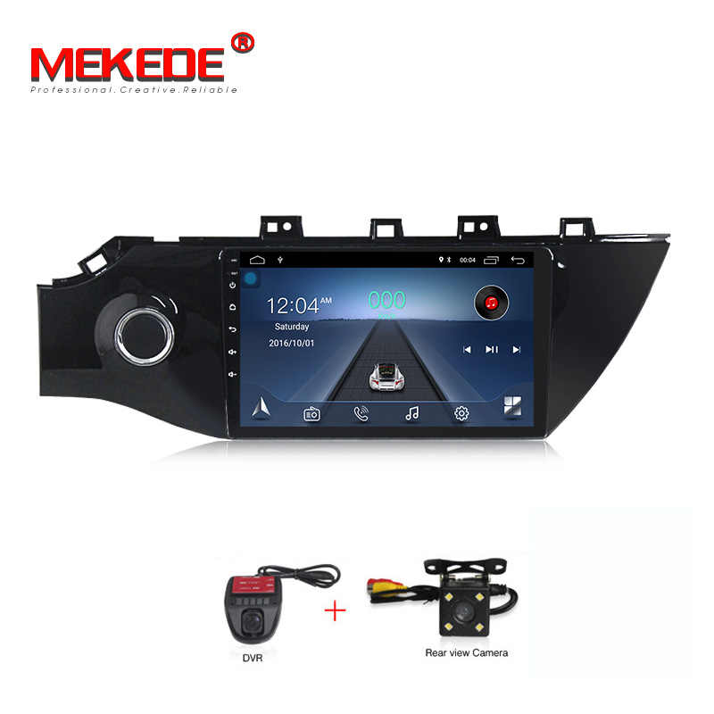 "MEKEDE Android 8,1 Car Radio GPS Multimedia Video Player navegación GPS 9 ""para KIA RIO 4 2017 4 2018 sedan 2 din no dvd"