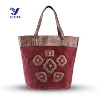 YUBIRD Brand Casual Cotton Fabric Women Shoulder Cross Body Handbag Vintage School Bag For Girls Weekend