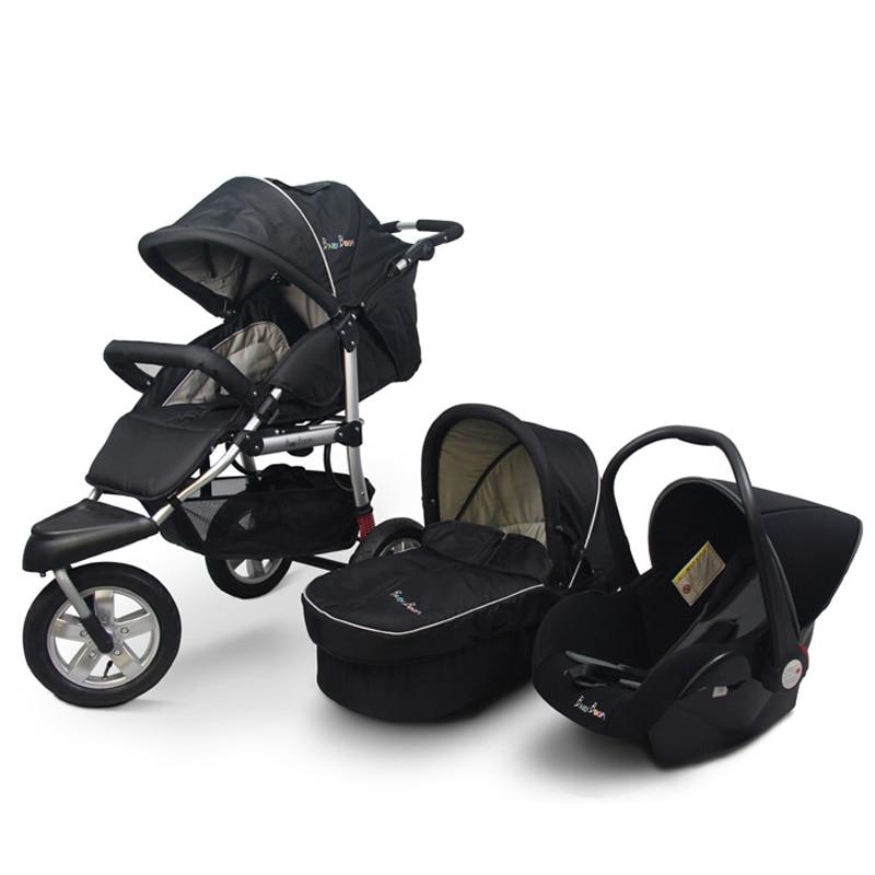 3 in 1 newborn baby stroller EU folding baby carraige  off-road light buggiest sports baby stroller pinturicchio centenarian four wheel baby stroller baby newborn buggiest shock absorbers dual