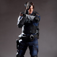 Game Resident Evil Character Leon Scott Kennedy Action Figure Collectable Model Toy