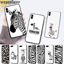 WEBBEDEPP Cartoon zebra supreman stripe On Sale Silicone soft Case for iPhone 5 SE 5S 6 6S Plus 7 8 11 Pro X XS Max XR
