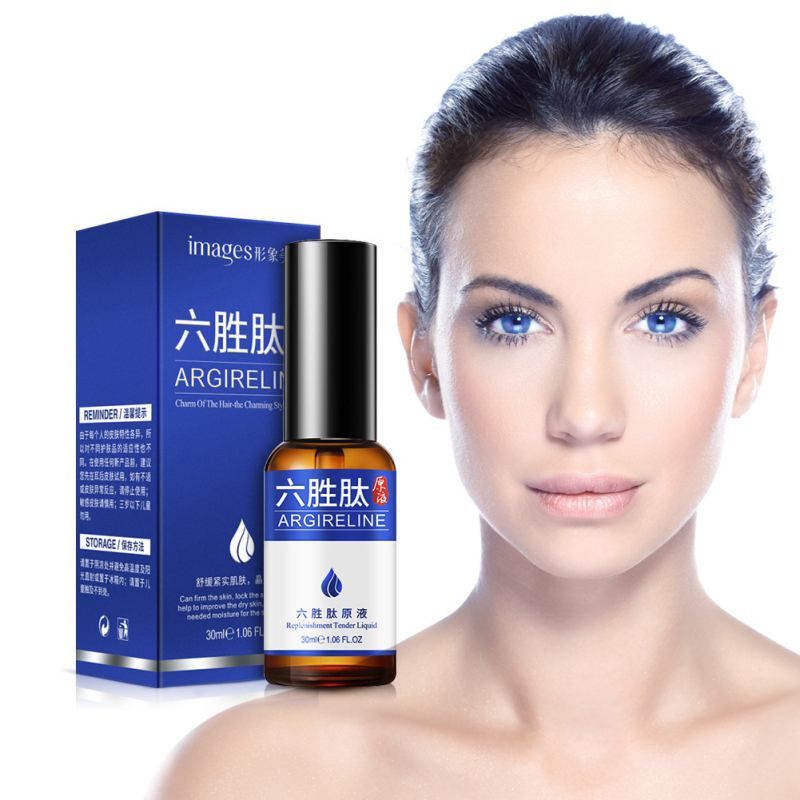 Argireline Hyaluronic Liquid Face Care Six Peptides Anti Wrinkle Anti Aging Skin Whitening Instantly Ageless Skin Care