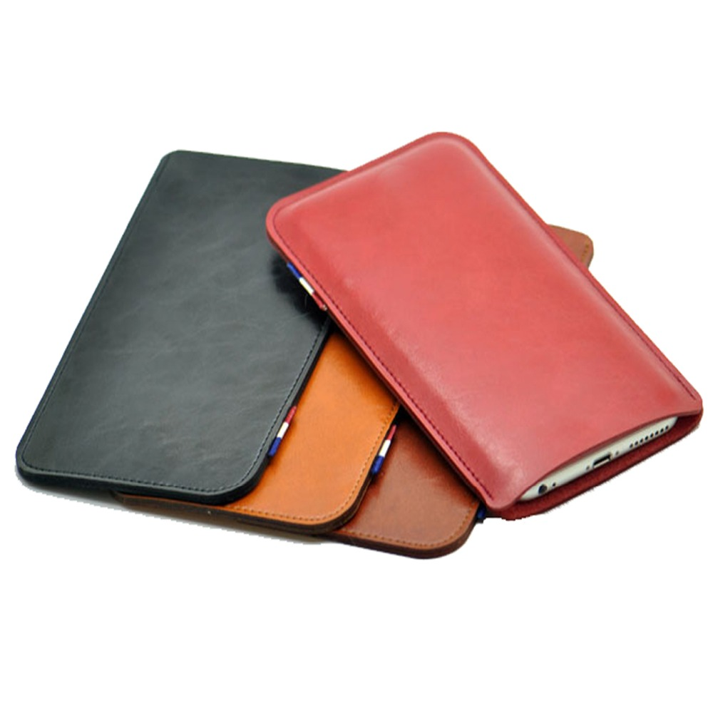 Ultra-Thin Super Slim Phone Pouch Cover, Vintage Microfiber Stitch Cases For Google Pixel/Pixel XL Sleeve