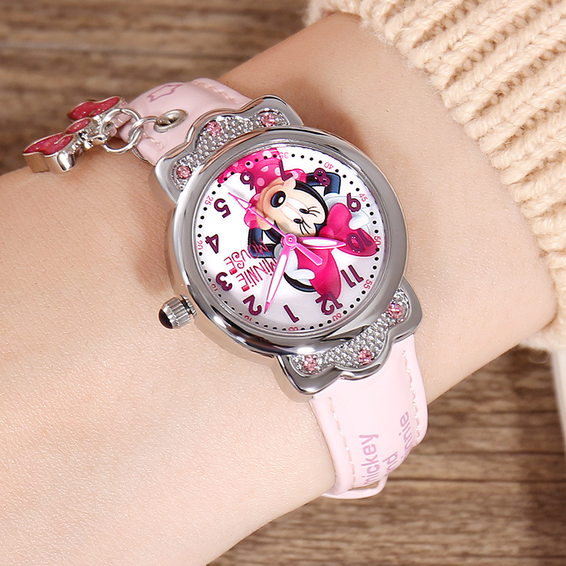 Shop For Cheap 100% Genuine Disney Brand Watches Frozen Sophia Minnie Watch Fashion Luxury Watch Men Girl Wrist Watch 2018 Hot Sell Children's Watches