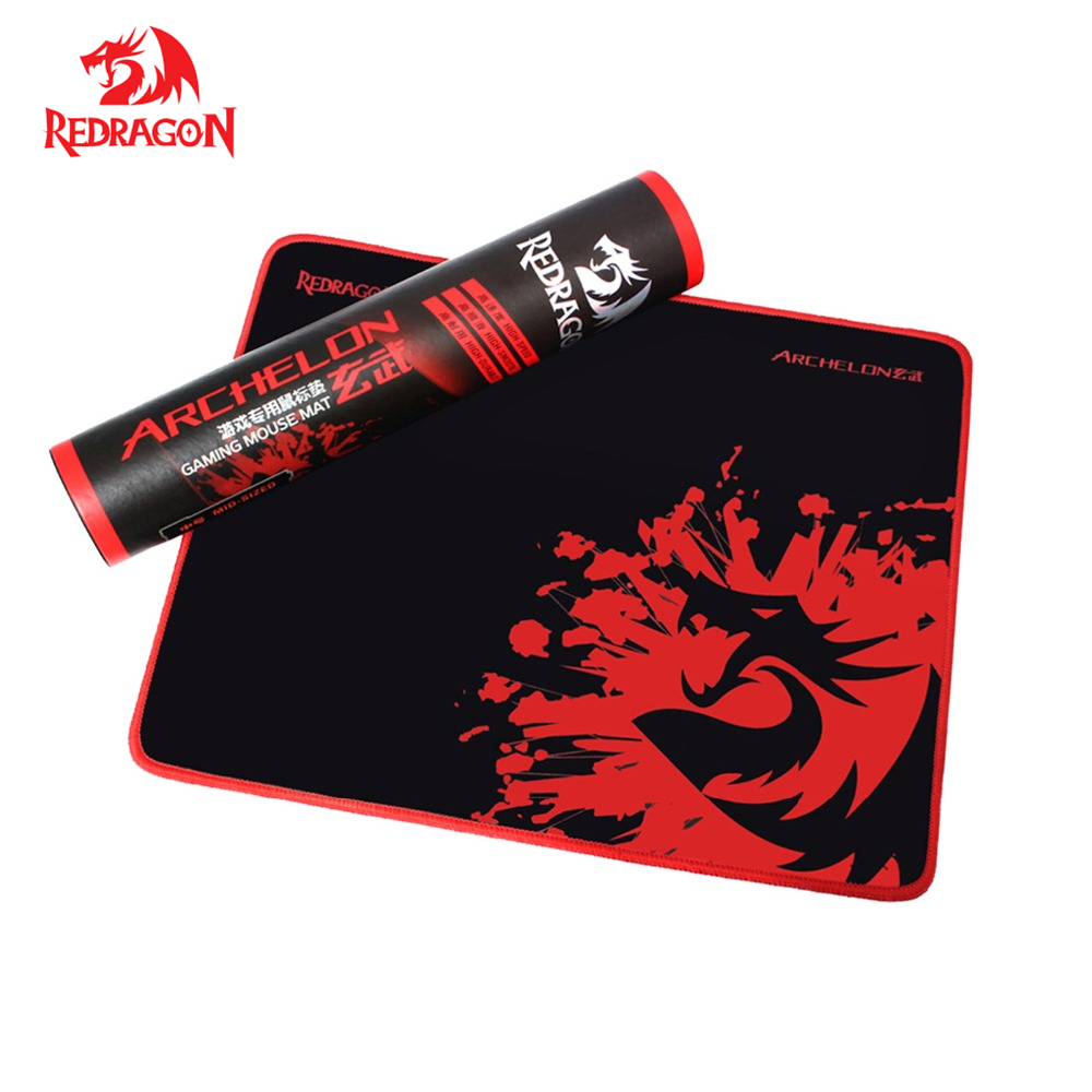 Redragon Gaming Mouse Pad Stitched Edges Waterproof Ultra Thick 5MM Silky Smooth Laptop PC Mousepad dota2 Mat for gamer d dota2 dota2 15 1500