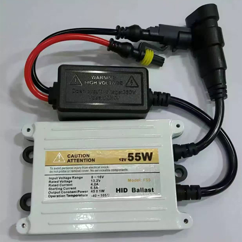 ФОТО High-quality AC 55W hid xenon kit H1 H3 H7 H8 H9 H10 H11 9005 9006 hb3 bh4 6000k for car headlight two AC can bus ballast