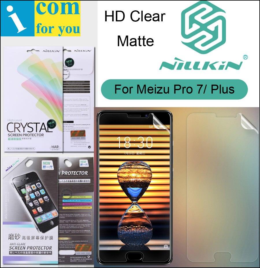 Nillkin Mat HD Écran Clair De Protection Film Pour Meizu Pro7 Pro 7 Plus Souple Transparent Cristal