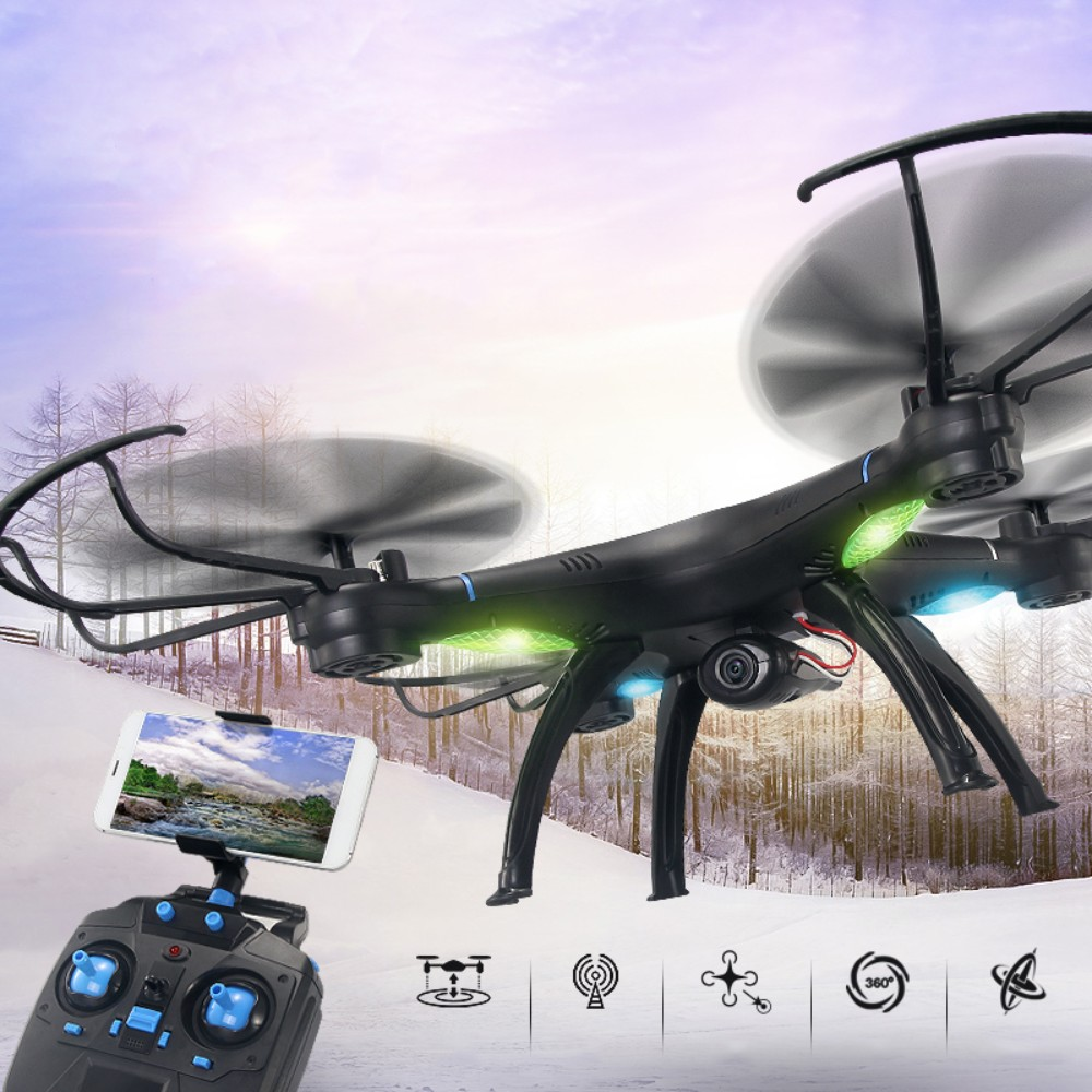 M39G-W WIFI FPV Drone With Camera Professional 2.4G 6-Axis RC Flying Toys With HD Camera Helicoptero de Controle Remoto