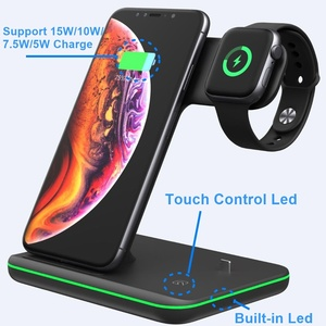 Image 4 - Tongdaytech 15W Qi Wireless Charger For Iphone X 8 11 Pro Max Quick Charge Fast Charger For Apple Airpods Pro Watch 5 4 3 2 1