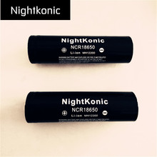 Фотография Nightkonic   18650 Battery  3.7V Li-ion Rechargeable Battery