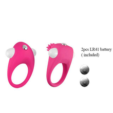 Male 2 Style 3 Colors Vibrating Thermoplastic Sex Cock Ring